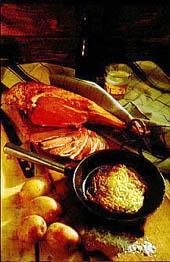 Gott ombord: fårfiol och potatiskaka
