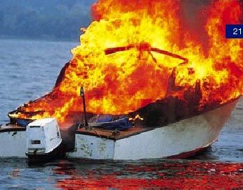 Brand ombord - allmänt