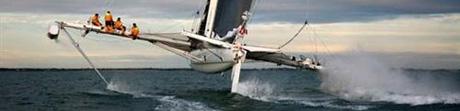 L'Hydroptere har förbättrat fartrekordet