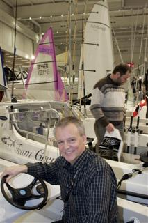 Bengt Wallin firar 10 år med båtmässan i Göteborg