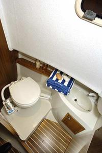 Toaletten ombord på Minor 27