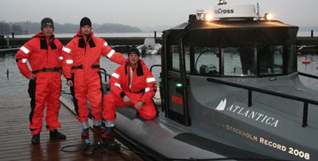 Första RIB-rekordet runt Gotland
