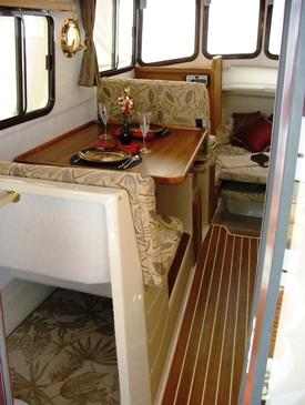 Varvet prioriterar trivsel och komfort ombord på Ranger Tugs.