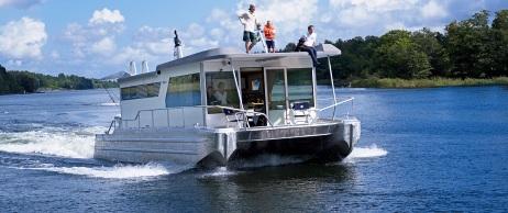 Rawcat Husbåt Villa Motorbåt