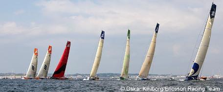 Start Volvo Ocean Race inport Galway