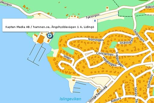 hitta till hamnen.se / Kapten Media AB