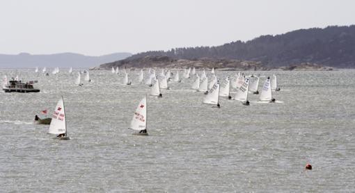 Lördagens seglingar på Hakefjorden avgjorda