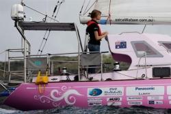 Jessica Watson - yngsta seglaren att ensam segla jorden runt