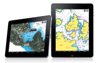 iPad blir kartplotter
