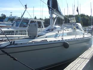 Nilsson-Norléns båt Moses III - Göta Kanals Bloggfamilj