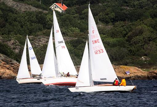 Tjörn Runt 2010 folkbåt Kismet