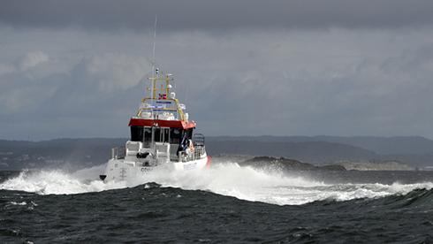 Swede Ship Marine har byggt den nya sjöräddningskryssaren.