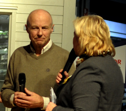 Årets hedersbetygelse 2010 till Bengt Jörnstedt