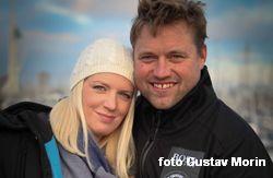 Skepparen på Hugo Boss - Alex och hans fru