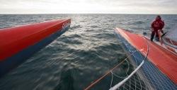 Hamnen.se seglar Thomas Covilles rekordtrimaran