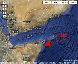 Dansk familj på världsomsegling kapad av pirater utanför Somalia