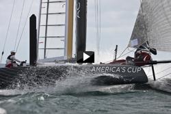 Nya America's cup-båten AC 45