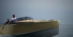 Nya häftig glidarbåt från Frauscher.