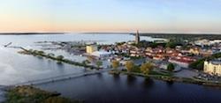 Mariestad är Årets båtkommun 2011. Foto: Sweboat