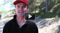 Darren Bundock F18-seglare deltar i Raid Revenge