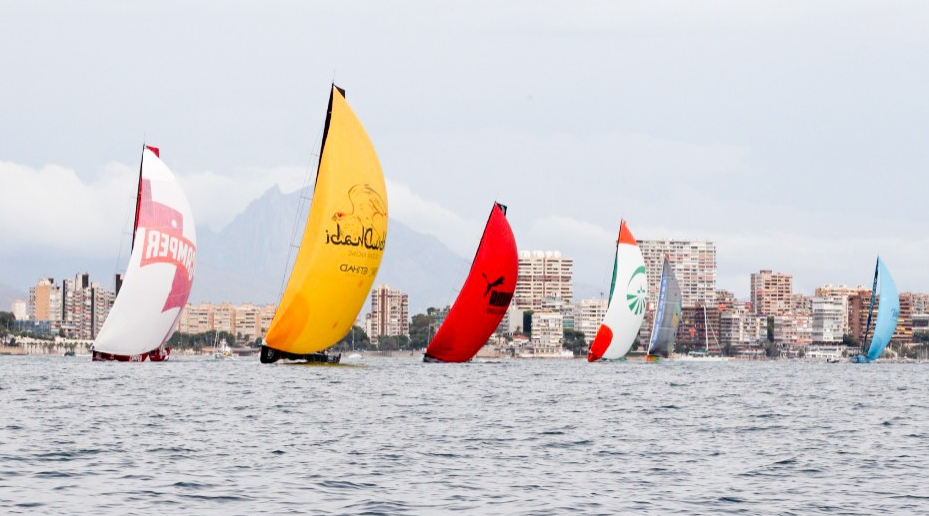 Volvo Ocean Race In-Port Race i Alicante