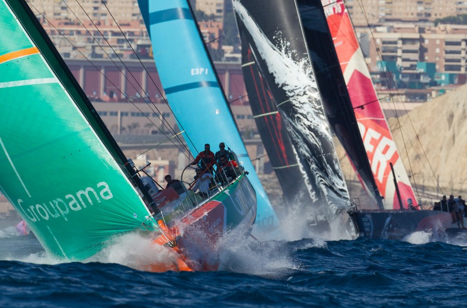Start of Volvo Ocean Race 2011