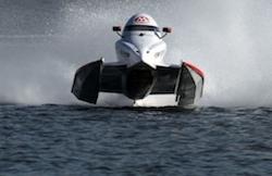 Formel 1 är båtvärldens fartvärsting
