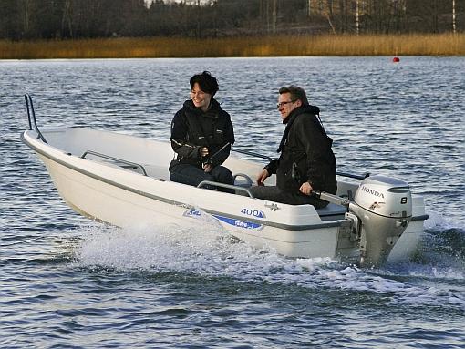 Terhi 400 - ny tuff barnbåt