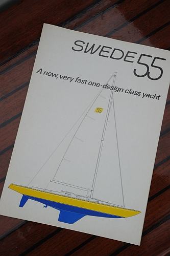 Swede 55 broschyr från 1976