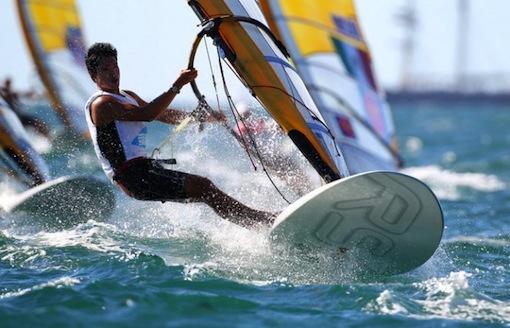 RS:X Vindsurfing med på OS 2016 i Rio.