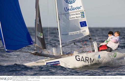 Garmin Sailing Team seglar Archipelago Raid.