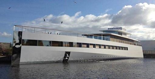 Steve Jobs yacht beslagtagen