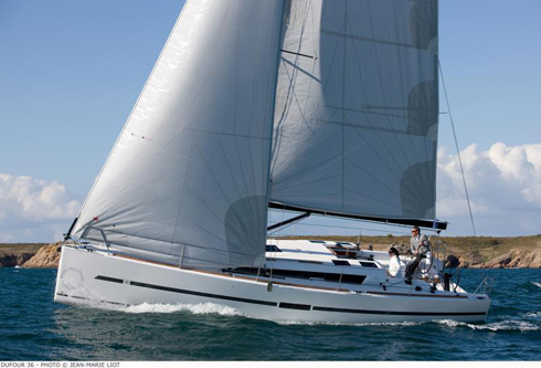 Dufour 36 vinnare i European Yacht of the Year 2013 Prestandaklassen
