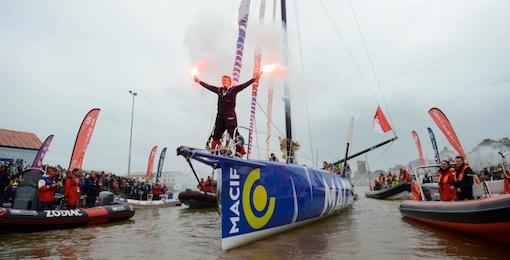 Francois Gabart winner Vendee Globe