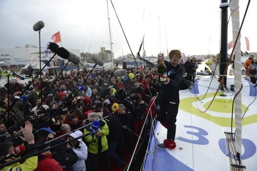 Macif winner, Francois Gabart.