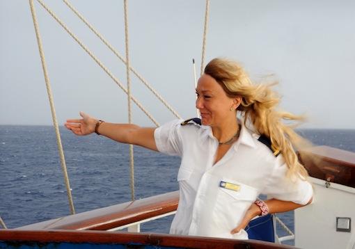 Kapten Sara Nordin