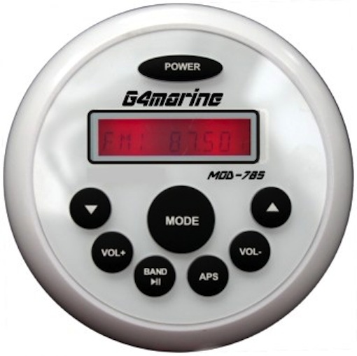 G4 Marine – vattentät stereo