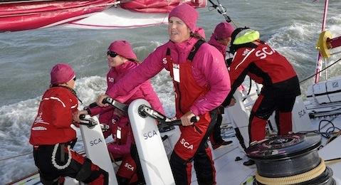 SCA sailing crew