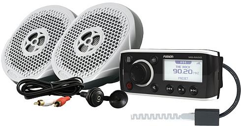 fusion msk-ra50 marinstereo med högtalare