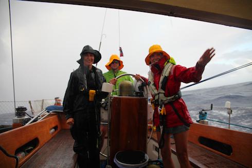 regn ombord