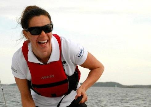 Karin Berg satsar på att segla VOR