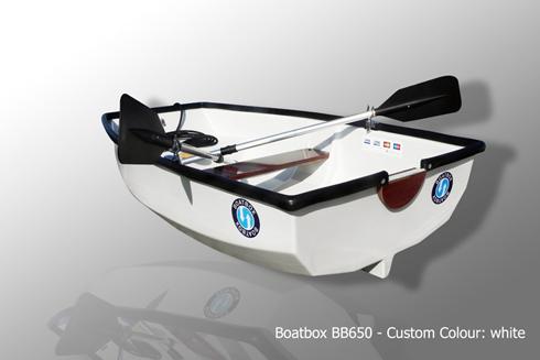 Boatbox 650 - Jollen som också är en takbox