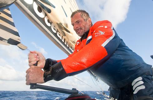 Anders Lewander seglar Watski2star