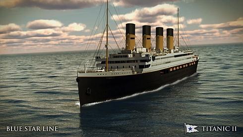 Titanic II - en kopia av det gamla fartyget