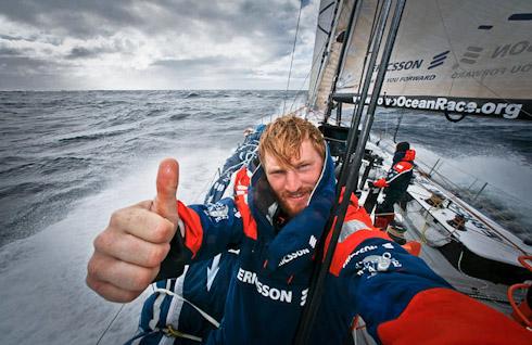 Gustav VOR på Ericsson 3