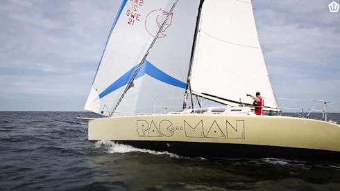 Pac-Man med Jimmy Hellberg vinner sin grupp i Watski 2star.