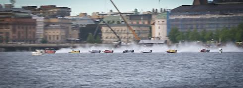 F2 VM på Riddarfjärden i Stockholm
