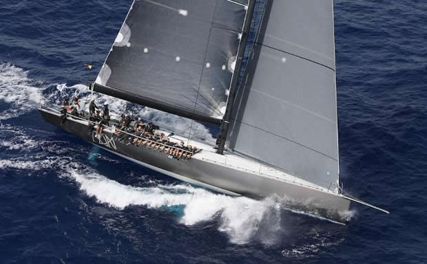 Ran sailing for record in Fastnet