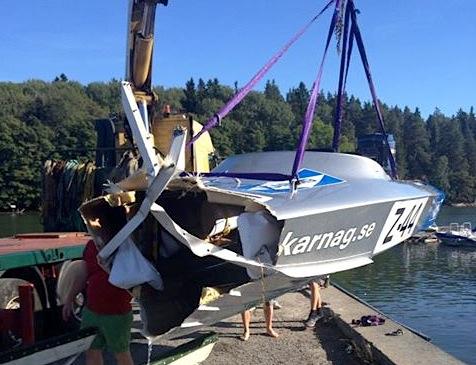 Karnag broken boat