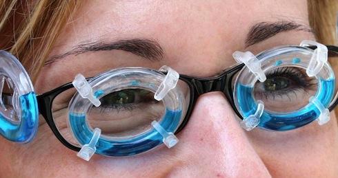 Seasicknes glasses